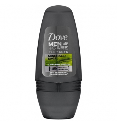 Dove antyperspirant kulce Deo Roll-On Men Care Mineral & Sage 50 ml
