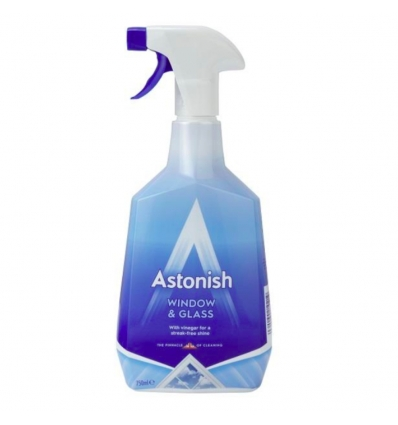 ASTONISH BATHROOM Płyn Do Mycia szyb 750ml