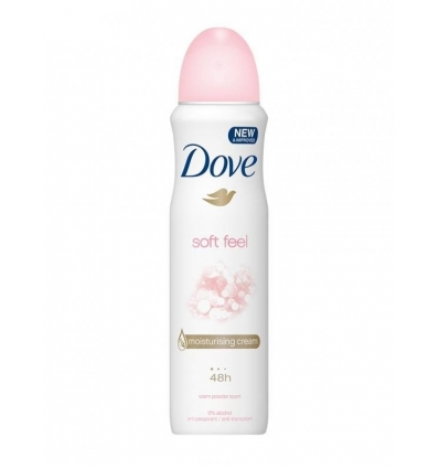 Dove Soft Feel antyperspirant 150 ml
